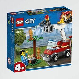 未使用 新品 シティ レゴ(LEGO) G-WP おもちゃ 男の子 バ-ベキュ-の火事 60212 ブロック