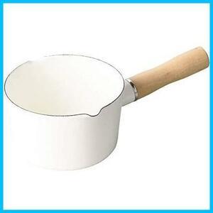 【送料無料-最安】パール金属(PEARL HB-4440 ブランキッチン METAL) ミルクパン G0992 ホワイト ホーロー 12cm