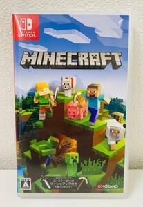 ☆9537■【美品】Nintendo Switch「マインクラフト Minecraft」ニンテンドースイッチ ソフト