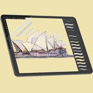 未使用 新品 フィルム NIMASO B-ZQ アンチグレア 反射低減 iPad Pro 11 (2021 / 2020 / 2018) / iPad Air4 用 保護 フィルム ペ-パ-