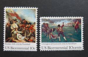 アメリカ (USA) 1976年 建国200年記念 切手 未使用・送料無料