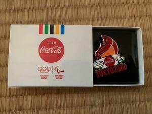 コカコーラ 東京オリンピック ピンバッチ バッジ 聖火