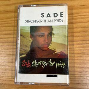 Sade「Stronger Than Pride」カセットテープ 輸入盤 正規品 Official シャーデー CHILL Ambient R&B レコード LP CD T-Shirt RARE!!
