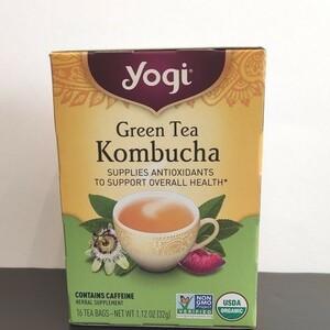 ヨギティー 緑茶コンブ茶  コンブチャ グリーンティー YOGI ハーブティー オーガニック 昆布茶