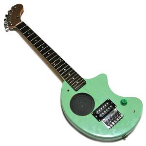ZO-3 アンプ・スピーカー内蔵 エレキギター ■FERNANDES フェルナンデス 緑系 ■ミニギター トラベルギター コンパクトギター [同梱不可]