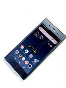 SONY Xperia XZ1 SOV36 au ムーンリットブルー SIMロック解除済 AU ドコモ SB OK Android 9