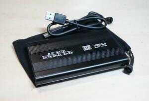 ポータブルHDD 250GB 動作品