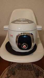 【美品】T-fal Cook4me ティファール CY7011JP クックフォーミー 圧力鍋 電気圧力鍋 時短 クッキング