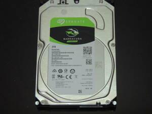 【検品済み】Seagate 3TB HDD 3.5インチ ST3000DM007 (使用7166時間) 管理:j-08