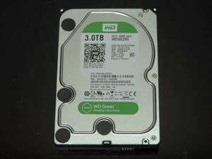 【検品済み/使用2383時間】WD 3TB HDD 3.5インチ WD30EZRX 管理:j-12