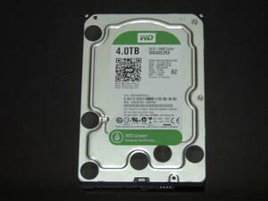 【検品済み/使用17時間】WD 4TB HDD 3.5インチ WD40EZRX 管理:j-69