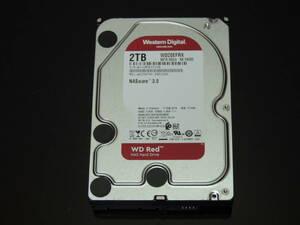 【検品済み】WD 2TB HDD 3.5インチ WD20EFRX (使用14281時間) 管理:j-83