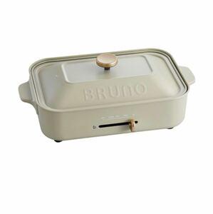 BURUNO ブルーノ コンパクトホットプレート ホワイト 白