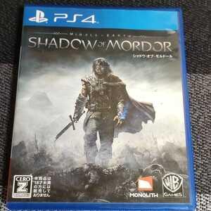 PS4 シャドウ・オブ・モルドール シャドウオブモルドール
