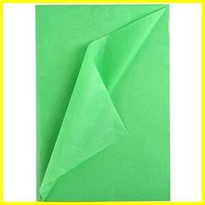 NALER 薄葉紙 35*50cm グリーン 60枚 包装紙 ラッピングペーパー 手芸用 プレゼント ペーパーアート