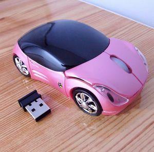 Z431 pink 自動車 ワイヤレスマウス 光学式