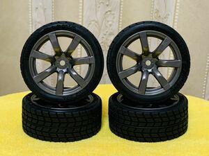 新品未使用 タミヤXB NISSAN GT-R タイヤホイール 4本セット