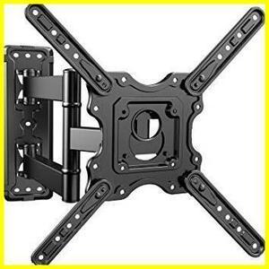 【未開封】 アーム式 耐荷重40kg 多角度調節 32-55インチ対応 テレビ壁掛け金具 VESA400x400 PERLESMITH 黒い