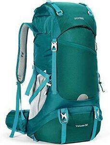 限定価格!グリーン HOMIEE リュック 登山 50L アウトドア バッグ バックパック ザック 大容量 防水 ハイドレRNFG