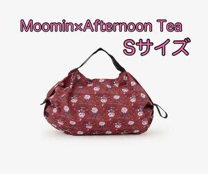【送料無料】アフタヌーンティー Moomin×Afternoon Tea リトルミイ シュパット コンパクトバッグS レッド 赤 新品 エコバッグ ムーミン