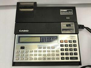 G430-I25-2848 CASIO Casio scientific calculator pocket computer pocket computer -PB-100 FP-12 printer set ③