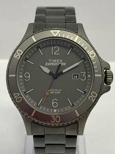 G090-I28-1612◎ TIMEX タイメックス エクスペディション INDIGLO デイト メンズ クオーツ 稼働 腕時計 ⑥