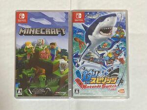 Nintendo Switch Minecraft&釣りスピリッツ