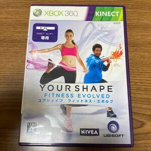 XBOX360 エボルブ Kinect XBOX ユア フィットネス シェイプ キネクト