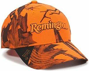 ブレイズ迷彩。 Free Size レミントン 野球帽 ブレイズカモ ロゴ入り
