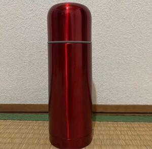 ステンレスボトル ステンレス ステンレスボトル HOT/COLDボトル  赤色のみ