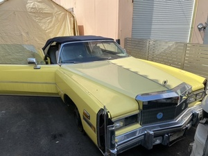 Cadillac L gong open car part removing car document none *