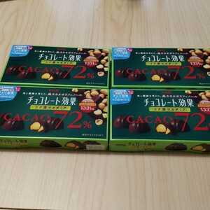 【まとめ売り!】チョコレート効果コク深マカダミア カカオ72% 4箱セット