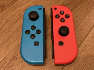 Nintendo Switch Joy-Con ネオンレッド ネオンブルー L R セット