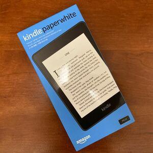 新品未開封★Kindle Paperwhite 8GB ブラック 広告つき 電子書籍リーダー Amazon