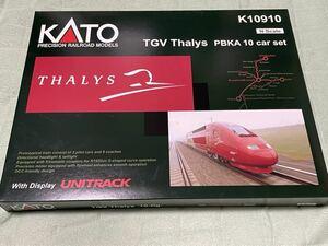 KATO K10910 タリス TGV THALYS PBKA 【ジャンク】