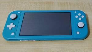 【中古】任天堂 Nintendo Switch Lite ターコイズ【本体+新品充電器】