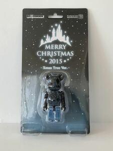 ※ラス1【未開封】BE@RBRICK Merry Christmas 2015 100% Xmas Tree Ver. / MEDICOM TOY ベアブリック メリー クリスマス