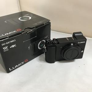 超美品パナソニック ルミックス ミラーレス一眼カメラ DC-GX7MK3 ブラック[jgg]