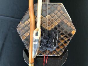 王根興最高級老紅木 低音二胡 二泉胡 本物証明有 ケース/付属品