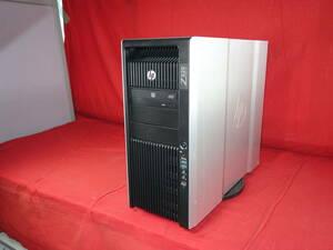 HP Z820 Workstation 【Xeon E5-2643】 ★ Windows 10 ★ 32GB/HDD500GBx2/Quadro 2000 中古 ワークステーション 【30日間保証】