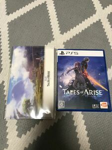 【PS5】 Tales of ARISE [通常版] 早期購入特典未使用 オマケ付き