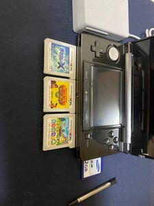 3DSコスモブラック箱なしソフトセット Nintendo DSiLL ニンテンドー DS Lite 任天堂 ゲーム本体