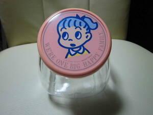 ★即決★ オサムグッズ   原田治 キャンディポット  女の子 ガラス瓶 小物入れ  キャニスター