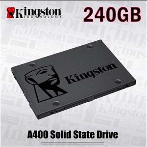【最安値】SSD Kingston A400 240GB SATA3 6.0Gbps 新品 高速 3D NAND TLC 内蔵 2.5インチ