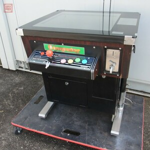 18 inch liquid crystal monitor installing Mini table case 1 lever 4 button 1L4B operation verification settled [80