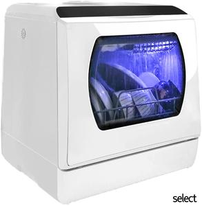 安心の無料匿名配送! 食器洗い 乾燥機 3人用 UV除菌 食洗機 高温洗浄 工事不要 タンク式 ホワイト