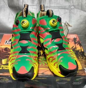 ○新品 Reebok 27.0cm ジュラシック・パーク インスタポンプ フューリー / Jurassic Park Instapump Fury OG Shoes