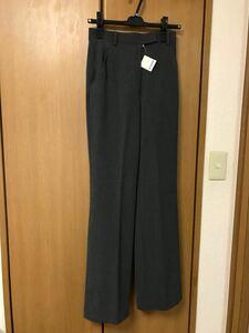 ワイドパンツ タック 秋冬 ズボン スラックス 新品 タグ付き