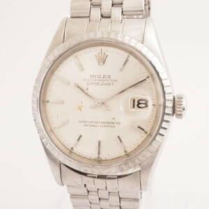 ロレックス オイスターパーペチュアル デイトジャスト Ref,1601 ROLEX OYSTER DATEJUST Cal,1570 自動巻 メンズ 男性腕時計[2360658]