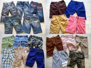● メンズ ショーツ ショートパンツ ハーフパンツ 福袋 まとめて まとめ売り 45点 セット 大量 洋服 古着 仕入れ ●86